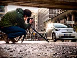 Фотографируем машины